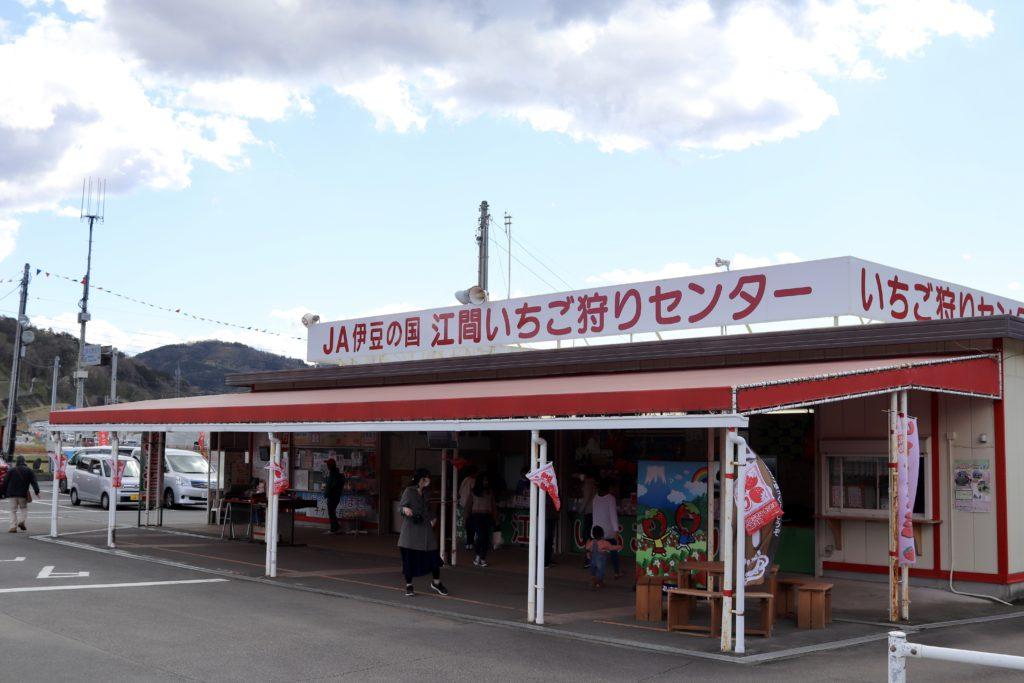 江間 いちご 狩り センター